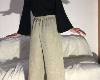 Sonia Rykiel top with long sleeves and flared