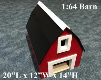 1:64 Wooden Barn