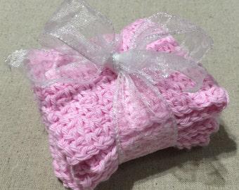 Baby washcloths (set of 2)
