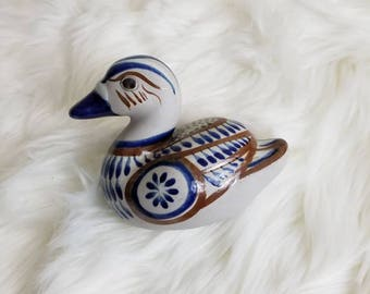 Vintage Ceramic Duck Potery // Home Decor