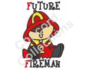 Future Fireman Machine Embroidery Design