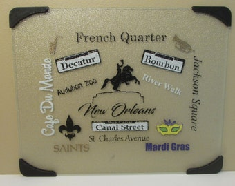 New Orleans Personalized Cutting Board
