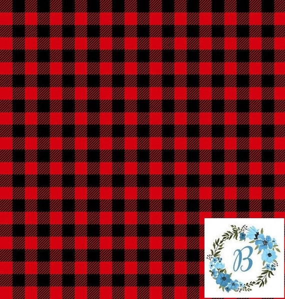 Canadian Eh! Buffalo Plaid .5 metre of Red and .5 metre of Grey Buffalo Check Special Listing for Rosamary