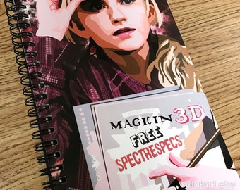 LUNA LOVEGOOD • Harry Potter - Digital Drawing Journal