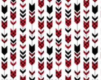 Curtains or Valance in Arrow (buffalo plaid)