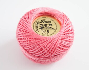 Perle Cotton Thread | Finca Presencia Pearl Cotton, Embroidery Thread - Medium Melon (1889)