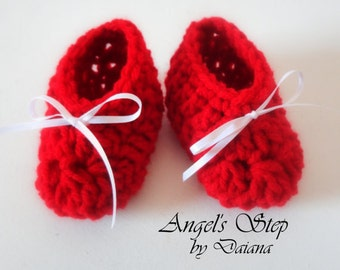 Minnie Mouse Booties