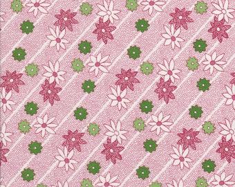 Sale Fabric - Poinsettia Fabric - Christmas Fabric - Kaye England - Wilmington Fabric - Greetings Fabric - Back Porch Prints Fabric