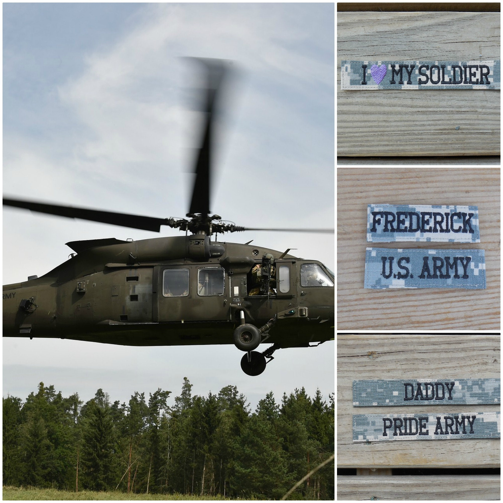 Armee ACU benutzerdefinierten Namen Bänder Militär Band Namen