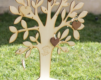 Tree Signatures Wedding-