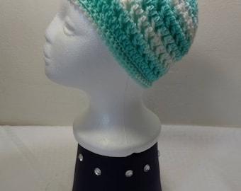 Crochet winter beanie