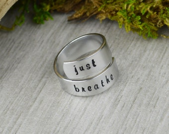 Just Breathe Wrap Ring