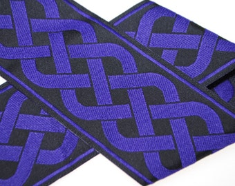 Celtic Knot Jacquard Trim 2 inches wide - Two, Five, or Ten Yards