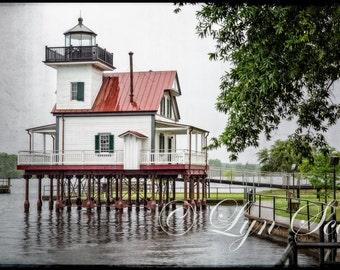 Lighthouse, Roanoake River, Landscape, seascape, cottage art, North Carolina,wall art, Edenton, photography, fine art, wall art