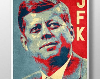 JFK - John Fitzgerald Kennedy - Poster