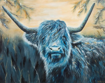 Fine art print of 'Delilah the Coo' by Michelle Haley