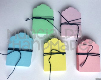 50 Paper tags - choose the color you like!