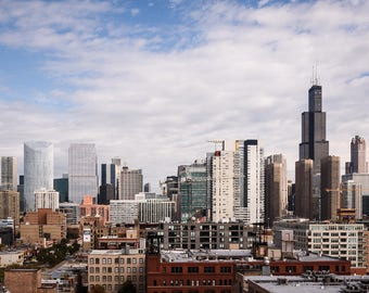 Chicago Skyline from the West