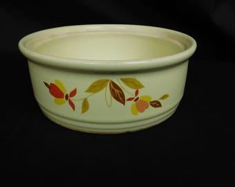 Hall's Superior Casserole Crock Dish Mary Dunbar Kitchenware 1930s-1950s