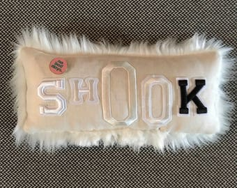 Shook pillow.