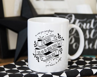The mug of girls who never say their age