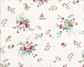 Pink Daisy's -  Floral Bouquet -  Bow Fabric - Dear Little World Bunny - Quilt Gate