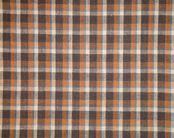 Homespun Fabric | Plaid Fabric | Cotton Fabric | Primitive Fabric | Quilt Fabric | Home Decor Fabric | Sewing Fabric | Craft Fabric