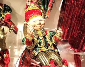 "Floridus 11"" ""Dazel"" Elf (Red, Green & Gold) FLO-XN709600"