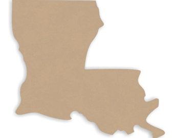 "12"" wide Louisiana Wood Craft Cutout Shapes"