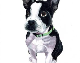 Commission Traditional Pet Portrait Artwork