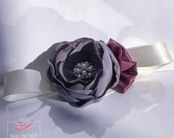 Corsage Wrist Braclet Peony Corsage Lilac Mist Corsage Wedding Accessories
