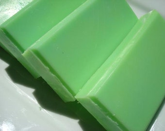 Tall Grass Soap, Green Soap, Shea Butter Soap, Homemade Soap, Bar Soap - 1/4 lb Soap - One Quarter Pound Soap
