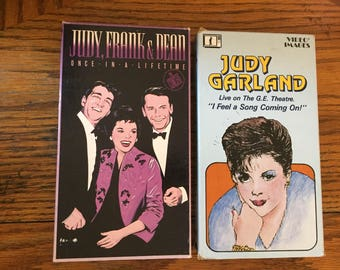 Judy Garland Lot of 2  (VHS) I Feel A Song Coming On! Judy, Frank & Dean