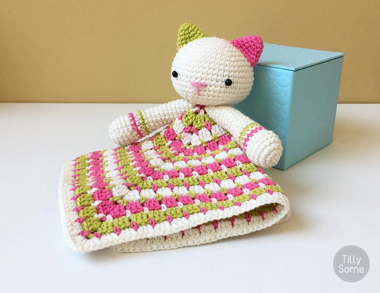 Atractivo Crochet Cat Pattern Blanket Colección - Manta de Tejer ...