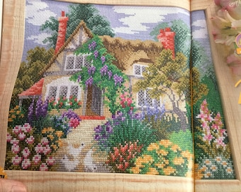 COUNTRY COTTAGE - Cross Stitch Pattern Only