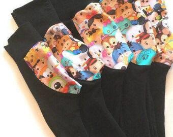 Leggings de cul moelleux ~ prêt à expédier, pantalon de couches de tissu, bébé, vêtements d'enfant en bas âge 3/6 mois