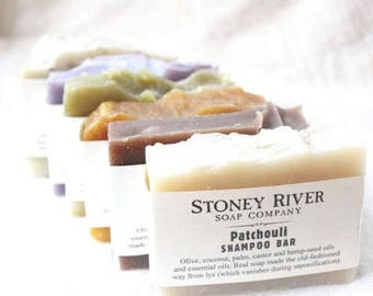 50 Wholesale Shampoo bars, 4-4.5 oz each, labeled or unlabeled