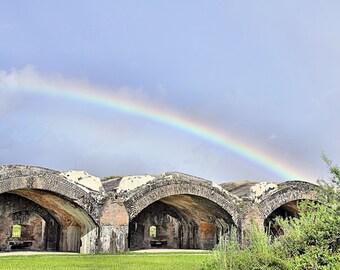 Rainbow Fort, Pensacola, FL, Photography