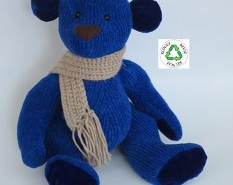 Handmade plush teddy bear