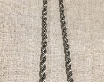 Solid silver chain vintage from ukraine