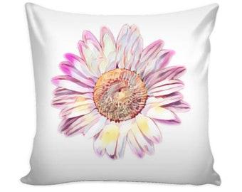 Flower Accent Pillows