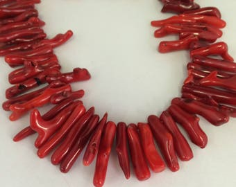 Red Coral Branch Strand