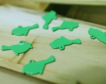 The green bird miniature