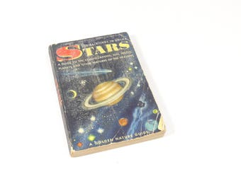 1956 Golden Nature Guide Stars Guide to the Constellations Vintage Science Guidebook Homeschool