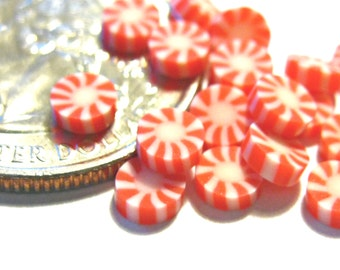 Red Peppermint Candies 20pcs