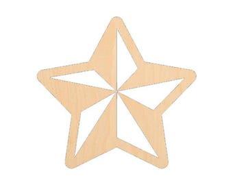 Star 2 - Laser Cut Shapes - LCSH-078
