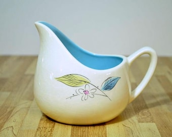Mid Century Salem Biscayne Gravy Boat Pitcher Ovenproof for 60 Years 58U