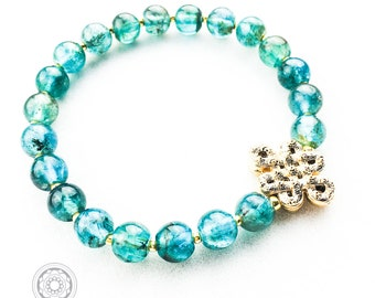 APATITE  Endless Bliss handmade bracelet
