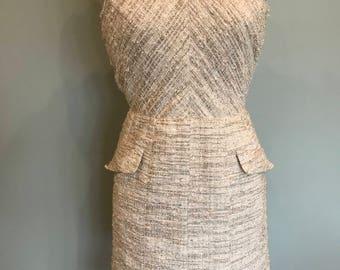 Oscar de la Renta tweed dress