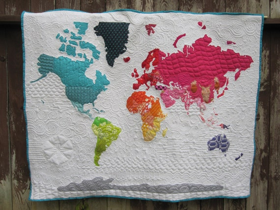 World map quilt pattern gumiabroncs Gallery
